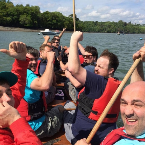 stag do in devon with Canoe Adventures