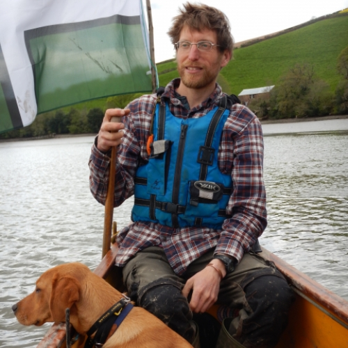 Hugh - skipper and guide for canoe adventures