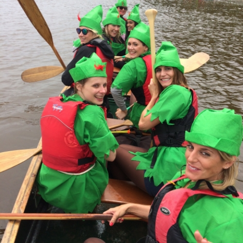 hen do river dart with Canoe Adventures