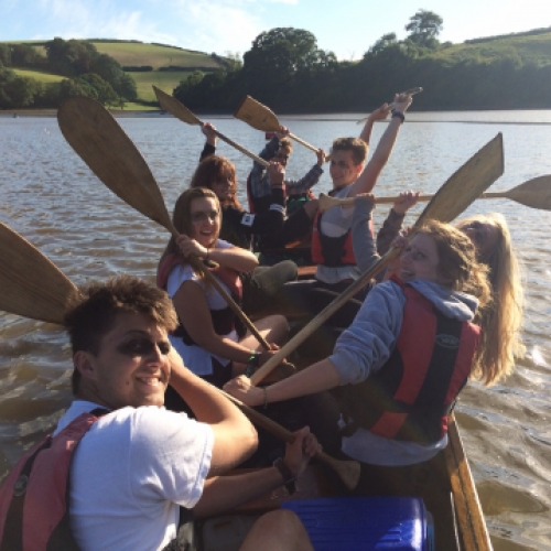 team building with Canoe Adventures