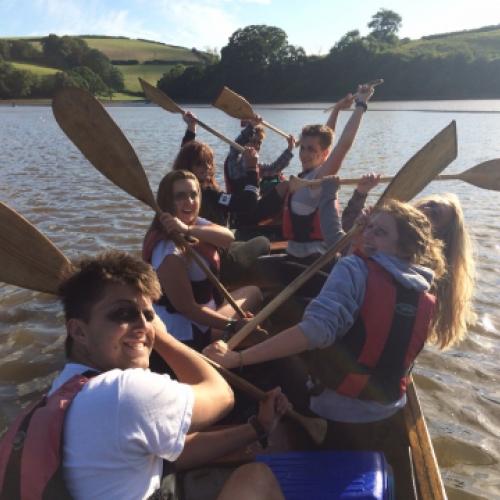 team building with Canoe Adventures