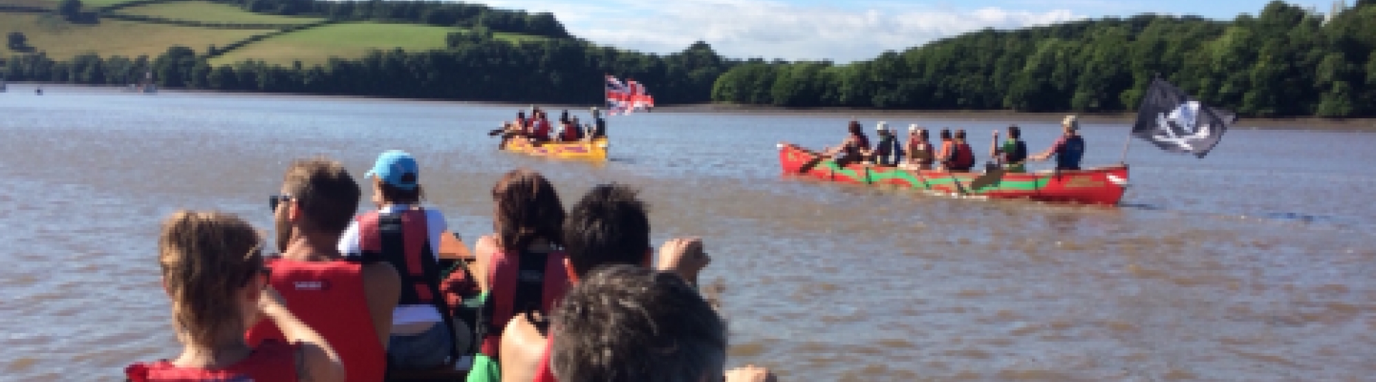 big groups with Canoe Adventures